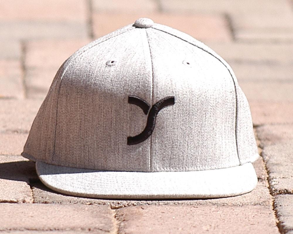 Grey with Logo