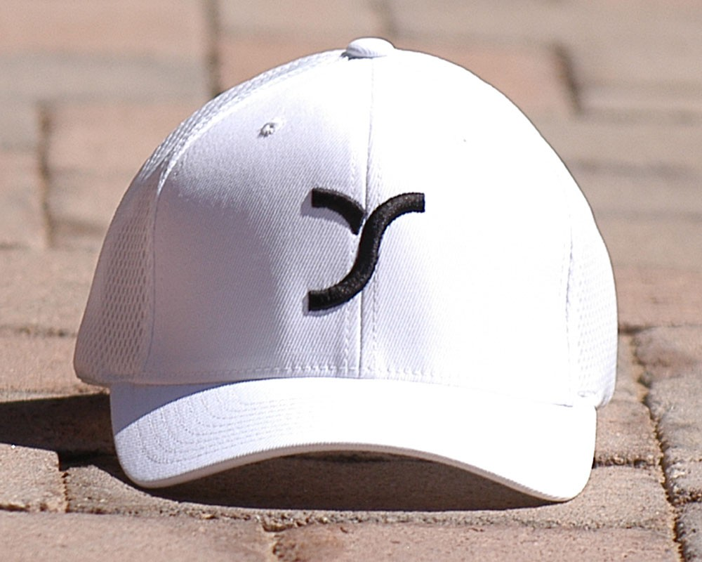 White with Logo